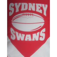 Sydney Swans  Ironingboard Cover, strong material but not extra thick